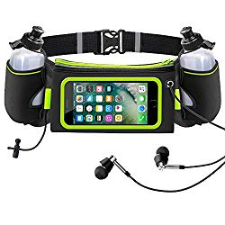iRainy Neoprene Waterproof Hydration Belt: For Largest Water Storage