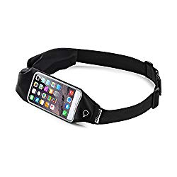 Top Fit Running Belt for Men + Women: With Touch Screen Phone Access