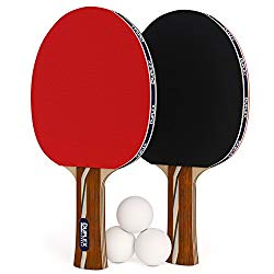 Duplex 6 Star Ping Pong Paddle: Great Price For Advanced Beginners