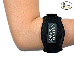 SIMIEN Tennis Elbow Brace: Professional Grade With Easy Adjustment
