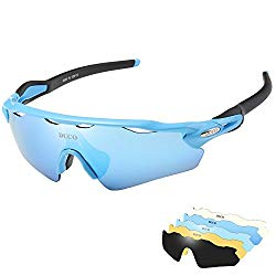 DUCO Polarized UV400 Protection Triathlon Glasses: Versatile And Eye Catching