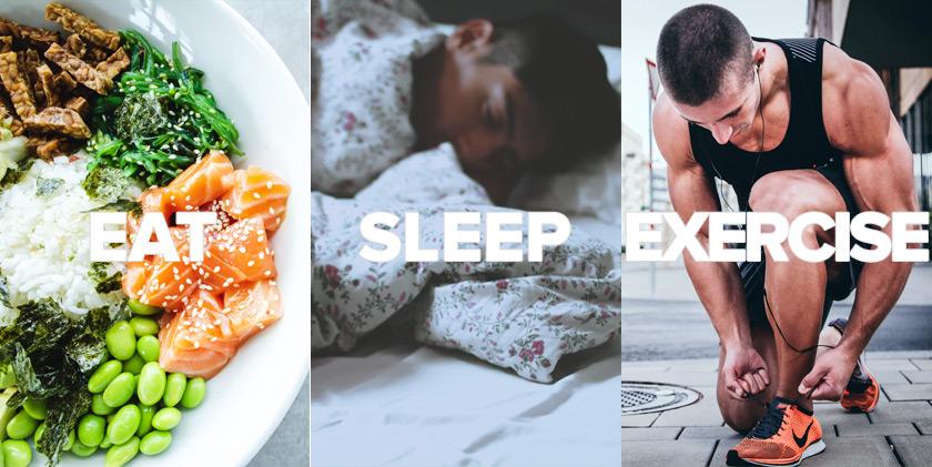 Ear, Sleep, Exercise